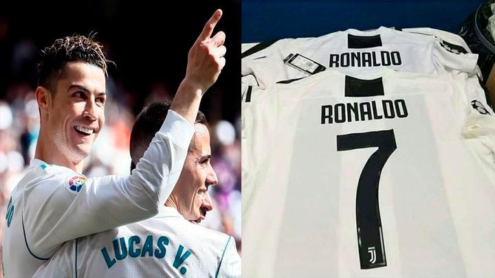Camiseta Juventus CRISTIANO RONALDO